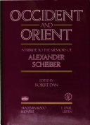 Occident and Orient