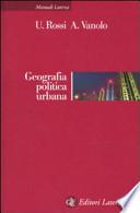 Geografia politica urbana