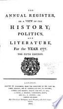 Annual Register Book