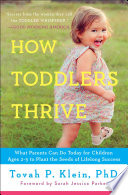 How Toddlers Thrive Book PDF