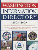 Washington Information Directory 2008 2009