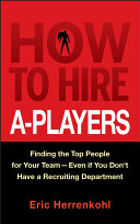 Pdf How to Hire A-Players Telecharger