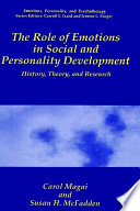 The Role Of Emotions In Social And Personality Development Book