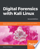 Digital Forensics with Kali Linux Book