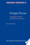 Unique Focus Book PDF