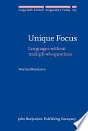 Unique Focus