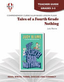 Tales of a Fourth Grade Nothing Novel Units Teacher Guide Book PDF