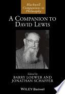 A Companion to David Lewis