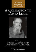 A Companion to David Lewis