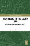 Film Music in the Sound Era