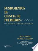 Fundamentals de Ciencia de Polimeros Book