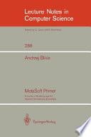 MetaSoft Primer Book