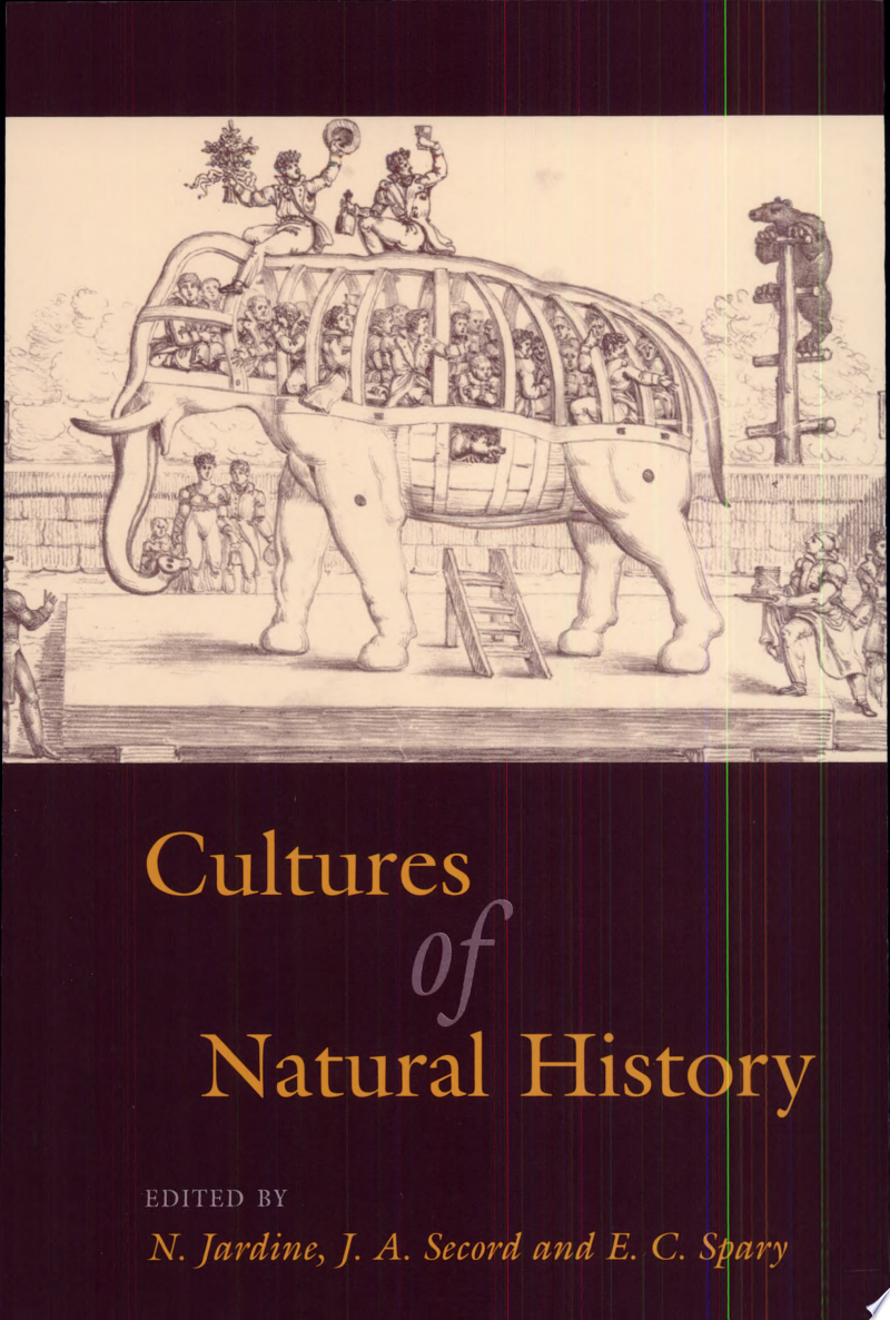 Cultures of Natural History banner backdrop