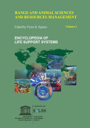Range and Animal Sciences and Resources Management   Volume I