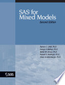 SAS for Mixed Models, Second Edition