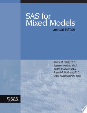 Download SAS for Mixed Models, Second Edition Free Books - Dlebooks.net
