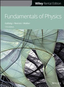 Fundamentals of Physics  11e