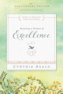 Becoming a Woman of Excellence Book