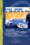 Pdf Introduction to the European Convention on Human Rights Telecharger