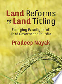 Land Reforms to Land Titling