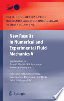 New Results In Numerical And Experimental Fluid Mechanics V Book PDF