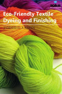 Eco Friendly Textile Dyeing And Finishing Book PDF