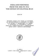 Comparative History of India and Indonesia