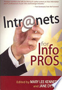 Intranets for Info Pros Book