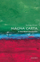 Magna Carta: A Very Short Introduction