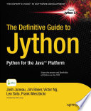 The Definitive Guide to Jython