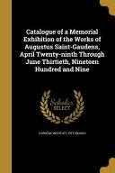Catalogue Of A Memorial Exhibi