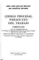 Código procesal paraguayo del trabajo