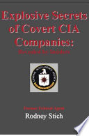 Explosive Secrets Of Covert Cia Companies Book PDF
