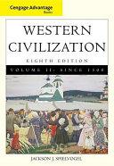 Cengage Advantage Books  Western Civilization  Volume II  Since 1500