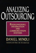Analyzing Outsourcing Book