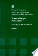 Science Budget Allocations