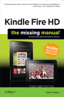 Kindle Fire HD: The Missing Manual Pdf/ePub eBook