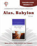 Alas  Babylon Novel Units Teacher Guide Book