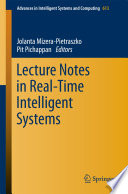 Lecture Notes In Real Time Intelligent Systems Book PDF
