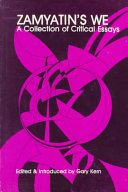 Zamyatin S We Book PDF