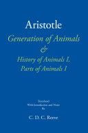 Generation of Animals & History of Animals I, Parts of Animals I