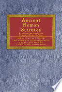 Read Online Ancient Roman Statutes For Free