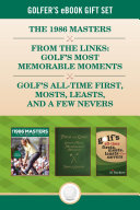 Golfer's eBook Gift Set