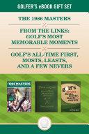 Golfer s eBook Gift Set