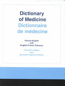 Dictionary of Medicine Book