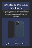 IPhone 12 Pro Max User Guide