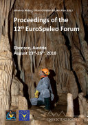 Pdf Proceedings of the 12th EuroSpeleo Forum Telecharger