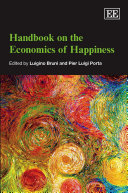 Handbook on the Economics of Happiness