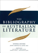 The Bibliography of Australian Literature  A E