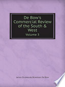 De Bow's Commercial Review of the South & West